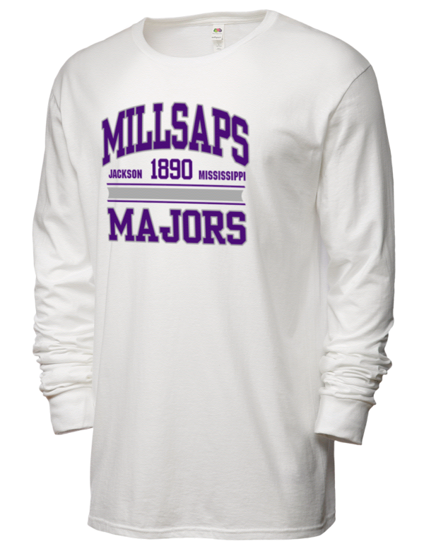 Millsaps College Majors Sofspun Men 39 S Cotton Long