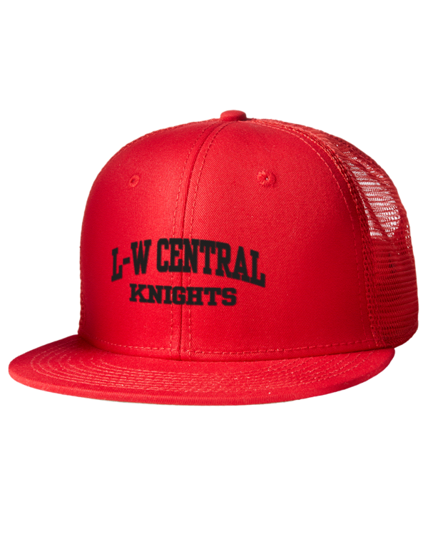Lincoln Way Central High School Knights Embroidered Cotton