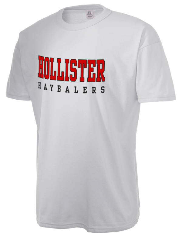 Hollister high school haybalers russell athletic men 39 s 5 for Hollister live chat