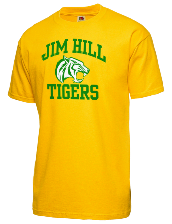 Jim Hill High School Tigers Fruit Of The Loom Men 39 S 5oz