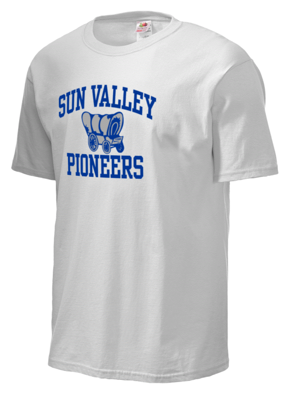 Sun valley junior high school pioneers fruit of the loom for Sun t shirts sunland california