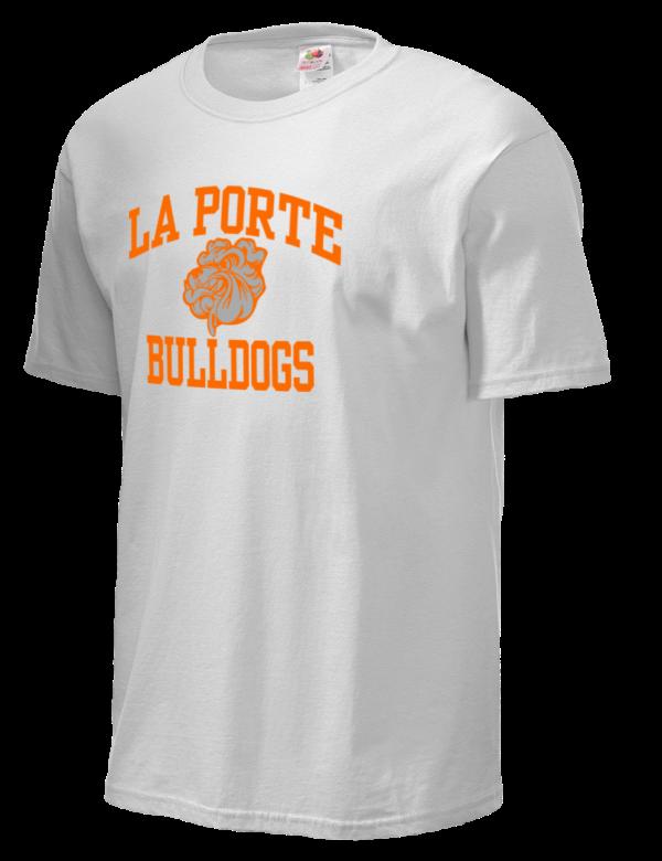 La porte high school bulldogs fruit of the loom men 39 s 5oz for La porte tx water department