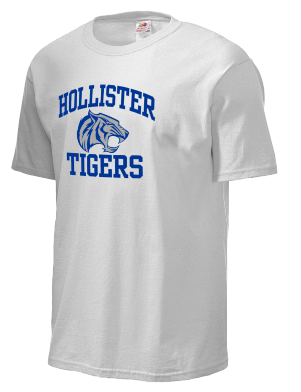 Hollister High School Tigers Fruit Of The Loom Men 39 S 5oz