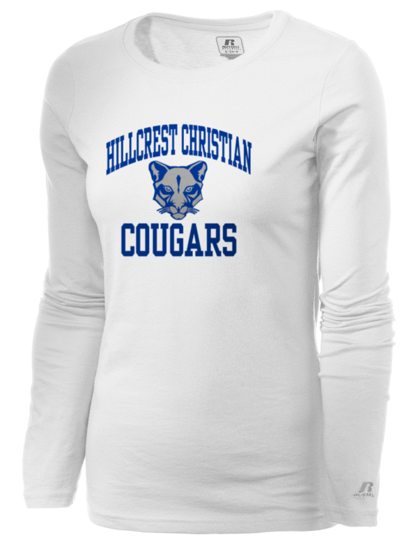 Hillcrest Christian High School Cougars Russell Athletic
