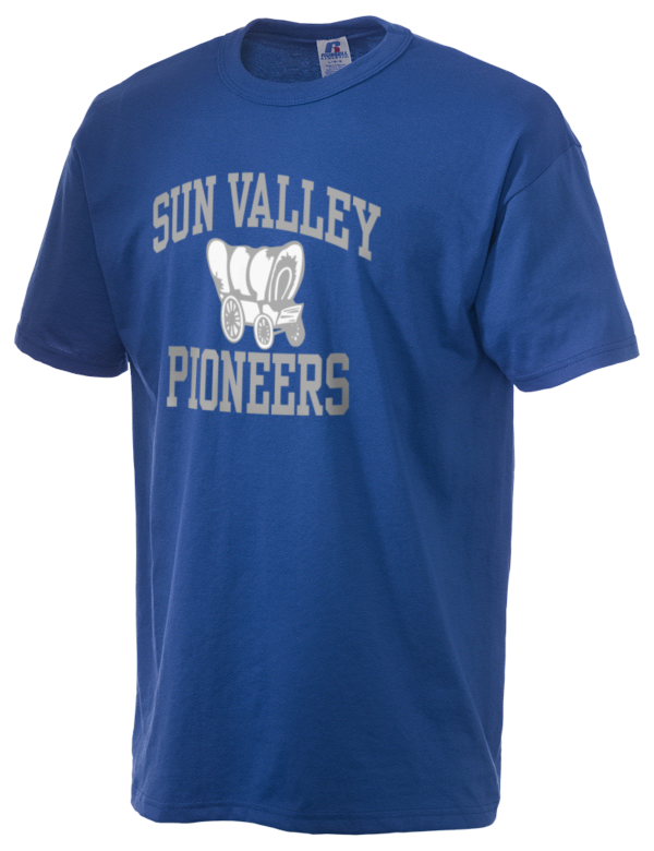 Sun valley junior high school pioneers russell athletic for Sun t shirts sunland california