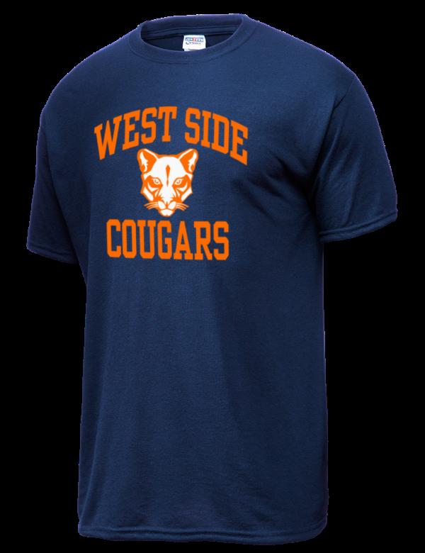 West Side High School Cougars Jerzees Men 39 S Dri Power