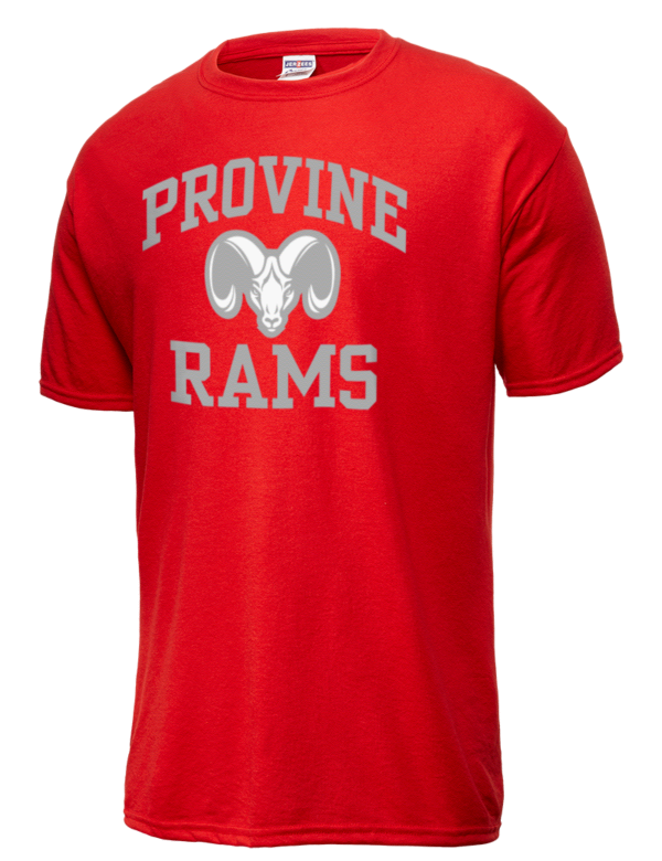 Provine High School Rams Jerzees Men 39 S Dri Power Sport T
