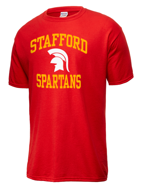 Stafford high school spartans jerzees men 39 s dri power for Stafford t shirts big and tall