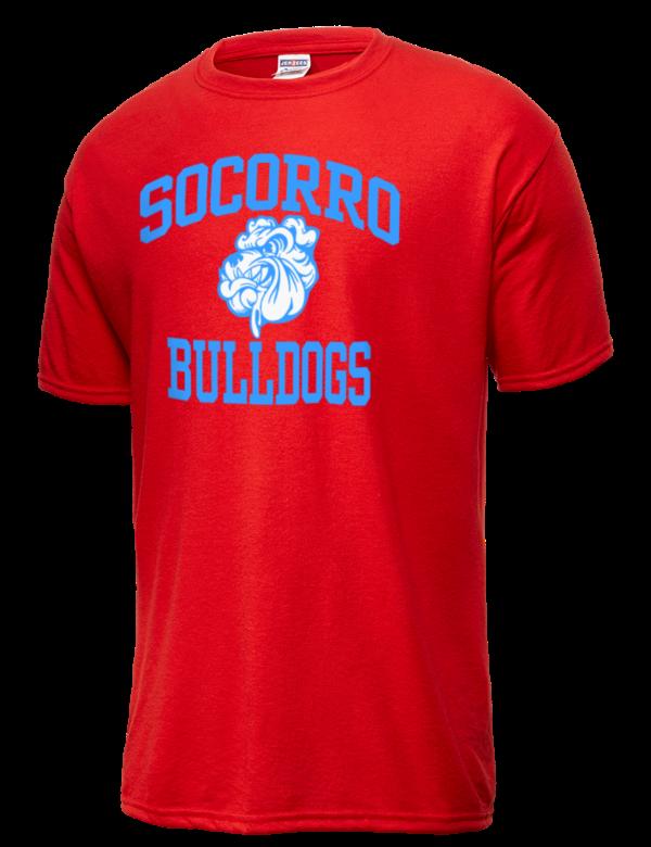 socorro high school bulldogs jerzees men 39 s dri power sport t shirt prep sportswear. Black Bedroom Furniture Sets. Home Design Ideas