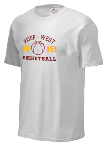 Tennessee Pride-west Basketball Fruit of the Loom Men's 5oz Cotton T-Shirt