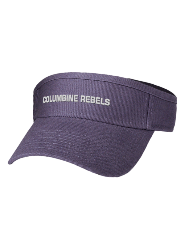 Columbine High School Rebels Embroidered Brushed Bull