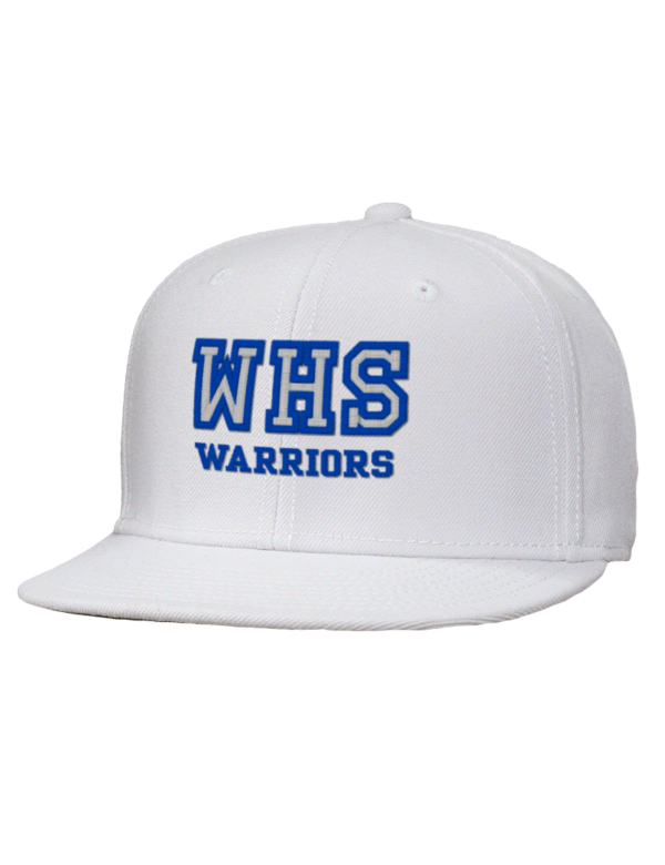Westhill high school warriors embroidered wool blend flat