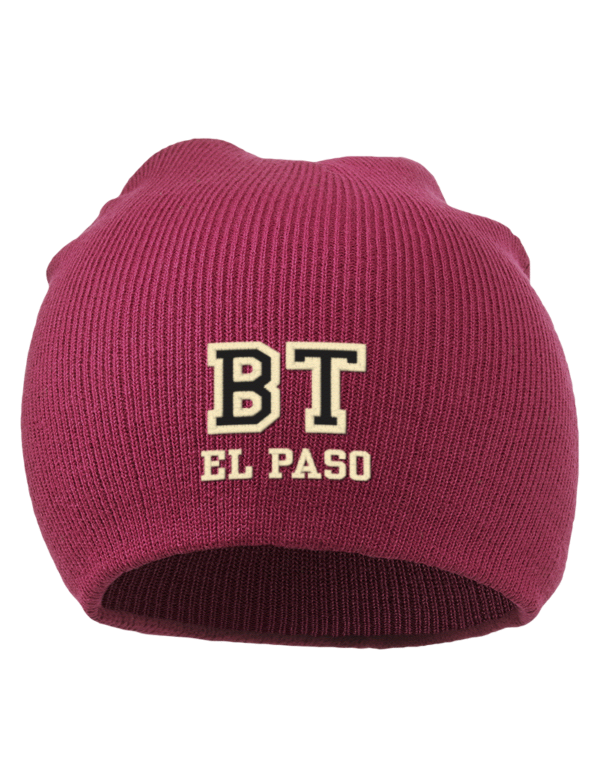 border institute of technology el paso embroidered acrylic beanie prep sportswear. Black Bedroom Furniture Sets. Home Design Ideas