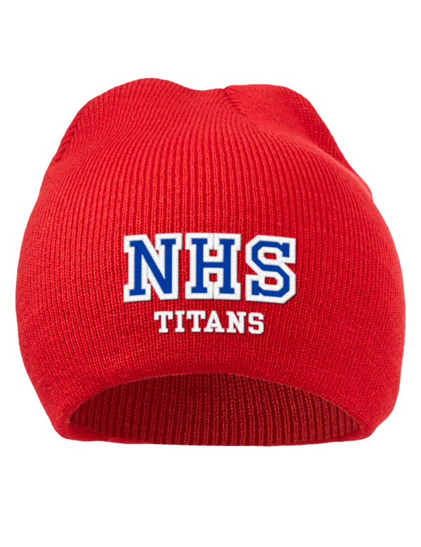 Norris School District: Norris High School Titans Embroidered Acrylic Beanie