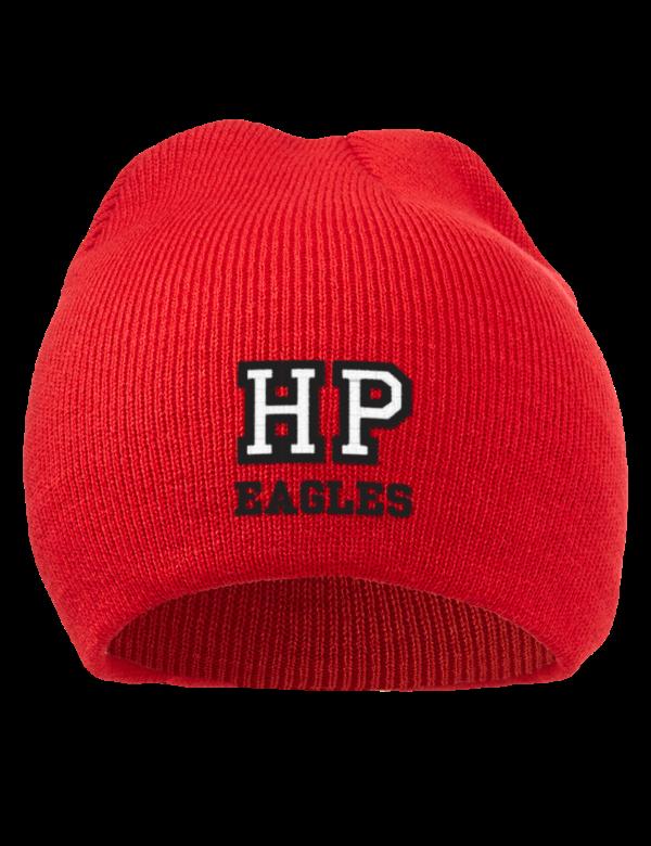 High point prep academy eagles embroidered acrylic beanie