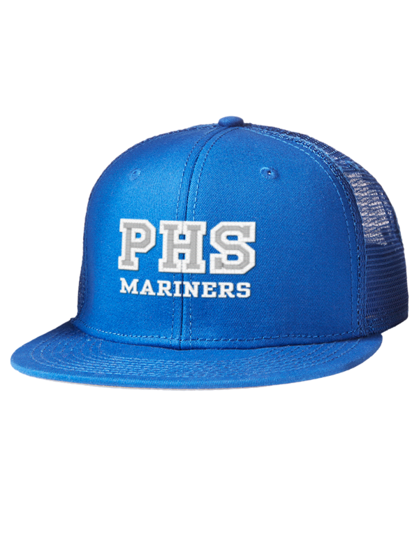 Pacifica High School Mariners Embroidered Cotton Twill