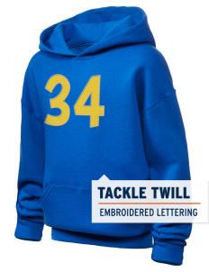 University of Wales Trinity Saint David Trinity Saint David JERZEES Youth Hooded Sweatshirt with Tackle Twill