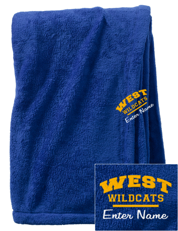 West Los Angeles College Wildcats Embroidered Augusta