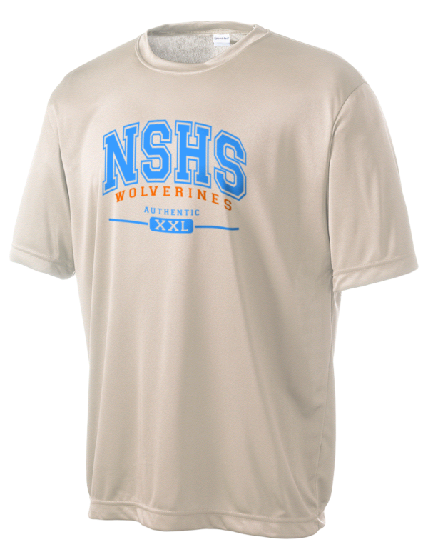 North stafford high school wolverines men 39 s competitor for Stafford t shirts big and tall