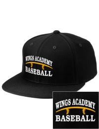 Sport a cool custom pro look, for yourself or the whole team, with this Wings Academy Wings  fitted embroidered cap. The Wings Academy Wings  sportswear hat is made from innovative poly-wool performance fabric with black underbill and a fiber-tech visor board that is flat as can be, allowing you to bend it -- or not -- however you like your merchandise.