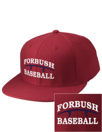 Sport a cool custom pro look, for yourself or the whole team, with this Forbush High School Falcons fitted embroidered cap. The Forbush High School Falcons sportswear hat is made from innovative poly-wool performance fabric with black underbill and a fiber-tech visor board that is flat as can be, allowing you to bend it -- or not -- however you like your merchandise.