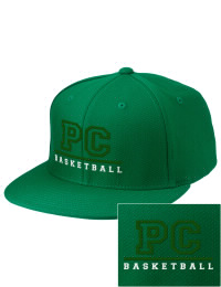 Sport a cool custom pro look, for yourself or the whole team, with this Pine Crest School Panthers fitted embroidered cap. The Pine Crest School Panthers sportswear hat is made from innovative poly-wool performance fabric with black underbill and a fiber-tech visor board that is flat as can be, allowing you to bend it -- or not -- however you like your merchandise.
