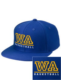 Sport a cool custom pro look, for yourself or the whole team, with this Western Albemarle High School Warriors fitted embroidered cap. The Western Albemarle High School Warriors sportswear hat is made from innovative poly-wool performance fabric with black underbill and a fiber-tech visor board that is flat as can be, allowing you to bend it -- or not -- however you like your merchandise.
