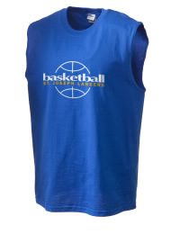 The perfect in-between custom Saint Joseph High School Lancers sleeveless crewneck T-Shirt.  The Saint Joseph High School Lancers sleeveless tee is preshrunk with double-needle stitching on neck, and hemmed armholes.  Ash color is 99% cotton, 1% polyester.  Sport Grey is 90% cotton, 10% polyester.