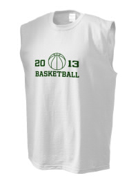 The perfect in-between custom Rabun Gap- Nacoochee School Eagles sleeveless crewneck T-Shirt.  The Rabun Gap- Nacoochee School Eagles sleeveless tee is preshrunk with double-needle stitching on neck, and hemmed armholes.  Ash color is 99% cotton, 1% polyester.  Sport Grey is 90% cotton, 10% polyester.
