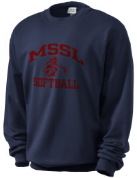 A sweatshirt for all seasons!  This Men's Shul Softball League sweatshirt includes a coverseamed neck, armholes and waistband all with spandex for the perfect fit!