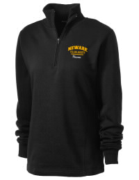 Newark High School Yellow Jackets Embroidered Women's 1/4 Zip Sweatshirt