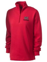 Granite City High School Warriors Embroidered Women's 1/4 Zip Sweatshirt