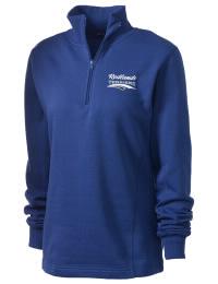 Redlands High School Terriers Embroidered Women's 1/4 Zip Sweatshirt