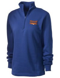 Theodore Roosevelt Senior High School Rough Riders Embroidered Women's 1/4 Zip Sweatshirt