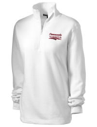 Pensacola High School Tigers Embroidered Women's 1/4 Zip Sweatshirt