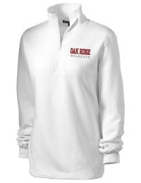 Oak Ridge High School Wildcats Embroidered Women's 1/4 Zip Sweatshirt