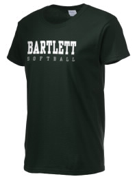 Ultra cotton comfort for the softest feel against your skin. The Bartlett High School Indians crewneck T-shirt features a seamless collar for added comfort.