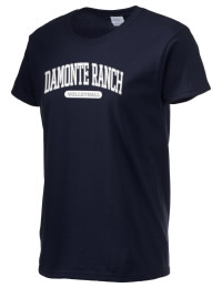 Ultra cotton comfort for the softest feel against your skin. The Damonte Ranch High School Mustangs crewneck T-shirt features a seamless collar for added comfort.