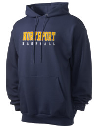 Crafted for comfort, this lighter weight Northport High School Tigers hooded sweatshirt is perfect for relaxing and it's a real value for a sportswear hoody. A must have for the serious Northport High School Tigers apparel and merchandise collection. 50/50 cotton/poly fleece hoodie with two-ply hood, dyed-to-match drawcord, set-in sleeves, and front pouch pocket round out the features of a Tigers hooded sweatshirt.