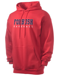 Crafted for comfort, this lighter weight Forbush High School Falcons hooded sweatshirt is perfect for relaxing and it's a real value for a sportswear hoody. A must have for the serious Forbush High School Falcons apparel and merchandise collection. 50/50 cotton/poly fleece hoodie with two-ply hood, dyed-to-match drawcord, set-in sleeves, and front pouch pocket round out the features of a Falcons hooded sweatshirt.
