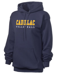 Crafted for comfort, this lighter weight Cadillac High School Vikings hooded sweatshirt is perfect for relaxing and it's a real value for a sportswear hoody. A must have for the serious Cadillac High School Vikings apparel and merchandise collection. 50/50 cotton/poly fleece hoodie with two-ply hood, dyed-to-match drawcord, set-in sleeves, and front pouch pocket round out the features of a Vikings hooded sweatshirt.