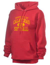 Crafted for comfort, this lighter weight Calaveras High School Redskins hooded sweatshirt is perfect for relaxing and it's a real value for a sportswear hoody. A must have for the serious Calaveras High School Redskins apparel and merchandise collection. 50/50 cotton/poly fleece hoodie with two-ply hood, dyed-to-match drawcord, set-in sleeves, and front pouch pocket round out the features of a Redskins hooded sweatshirt.