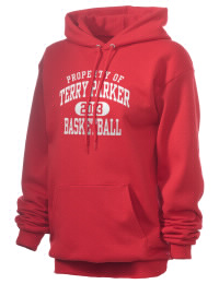 Crafted for comfort, this lighter weight Terry Parker High School Braves hooded sweatshirt is perfect for relaxing and it's a real value for a sportswear hoody. A must have for the serious Terry Parker High School Braves apparel and merchandise collection. 50/50 cotton/poly fleece hoodie with two-ply hood, dyed-to-match drawcord, set-in sleeves, and front pouch pocket round out the features of a Braves hooded sweatshirt.