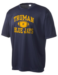 Take on your opponents in maximum comfort in this performance t-shirt. The Truman High School Blue Jays Competitor crewneck T-Shirt is lightweight and offers a roomy, athletic look and helps control moisture.