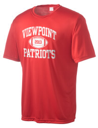 Take on your opponents in maximum comfort in this performance t-shirt. The Viewpoint School Patriots Competitor crewneck T-Shirt is lightweight and offers a roomy, athletic look and helps control moisture.