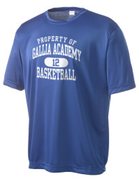 Take on your opponents in maximum comfort in this performance t-shirt. The Gallia Academy High School Blue Devils Competitor crewneck T-Shirt is lightweight and offers a roomy, athletic look and helps control moisture.