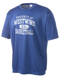 Take on your opponents in maximum comfort in this performance t-shirt. The Westwind Academy Warriors Competitor crewneck T-Shirt is lightweight and offers a roomy, athletic look and helps control moisture.