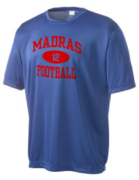 Take on your opponents in maximum comfort in this performance t-shirt. The Madras High School White Buffaloes Competitor crewneck T-Shirt is lightweight and offers a roomy, athletic look and helps control moisture.