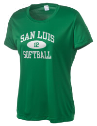 Take on your opponents in maximum comfort. The San Luis High School Sidewinders Competitor T-Shirt is lightweight and offers a roomy, athletic look and helps control moisture.