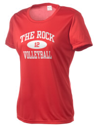 Take on your opponents in maximum comfort. The The Rock School Lions Competitor T-Shirt is lightweight and offers a roomy, athletic look and helps control moisture.